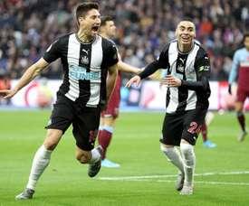 El Newcastle tumba al West Ham. NUFC