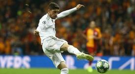 Valverde habló de su gran momento. AFP