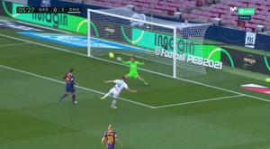 Valverde put Madrid in front. Screenshot/Movistar+LaLiga