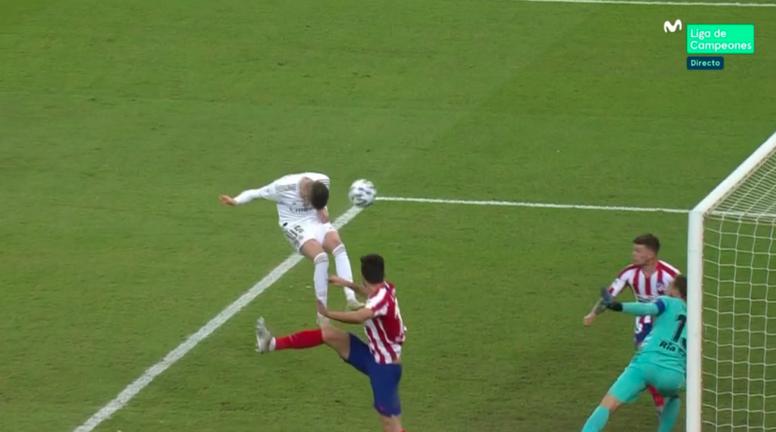 Le raté de Valverde qui aurait pu offrir la victoire au Real. Movistar