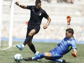 Fede Vico, partial break and out against Barcelona. GranadaCF