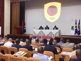 Suspension du football en Angola pour 15 jours. Federação Angolana de Futebol