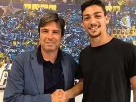 Barba, nuevo jugador del Chievo Verona. ACChievoVerona