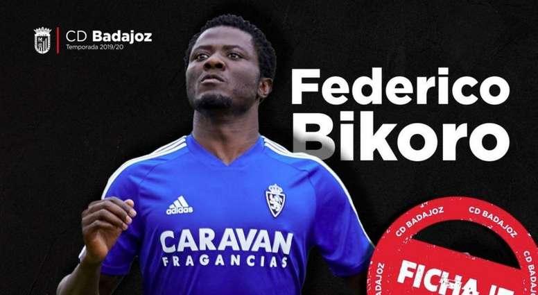 El CD Badajoz será el nuevo destino de Bikoro. Real Zaragoza