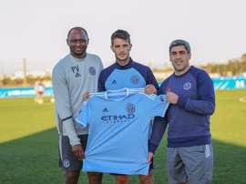 Federico Bravo, nuevo jugador del New York City. NYCFC