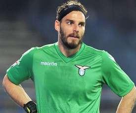 Federico Marchetti, portero de la Lazio. Twitter