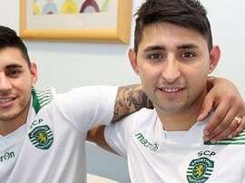 Federico Ruiz llegó al Sporting de Lisboa de la mano de su hermano Alan. SportingCP