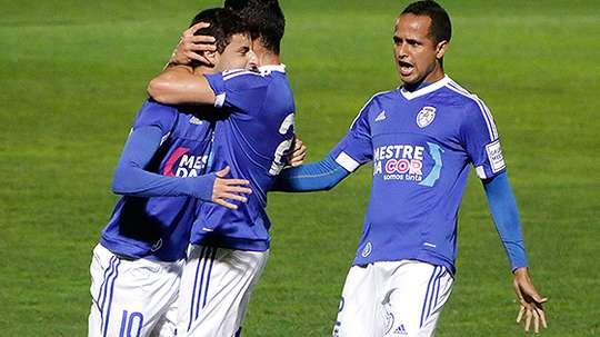 El Feirense-Vitoria Setúbal se suspendió en el segundo tiempo. CDFeirense