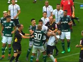 Ce match avait défrayé la chronique au Brésil. Captura/SportTV