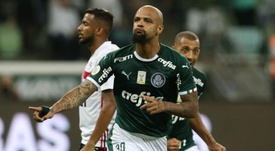 Palmeiras mantiene viva la esperanza. Palmeiras