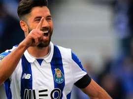 Felipe has said his goodbyes at Porto. AFP