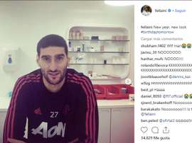 This is not a drill, Fellaini has cut his hair. Instagram/fellaini