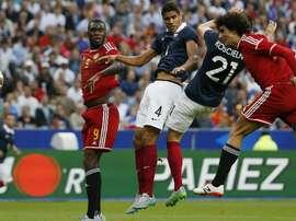 Pas d'amical entre la Belgique et la France. AFP