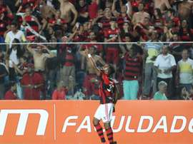 El 'Fla' sigue luchando por el Brasileirao. Flamengo
