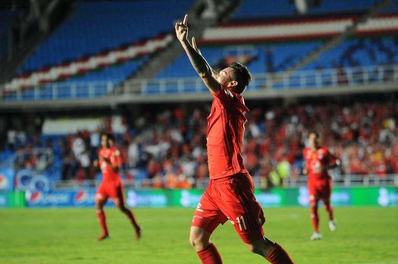 Canchimbo se ve con opciones de llegar a la Selección. Twitter/AméricadeCali