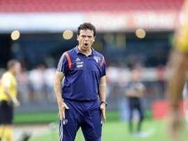 Fernando Diniz, treinador do São Paulo. SaoPauloFC