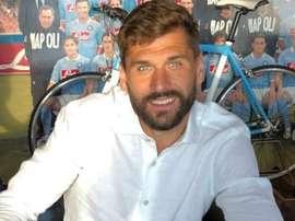 Fernando Llorente signe à Naples. AurelioDeLaurentiis