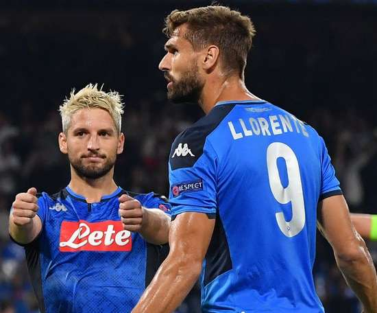 Llorente could be moving to Inter. AFP