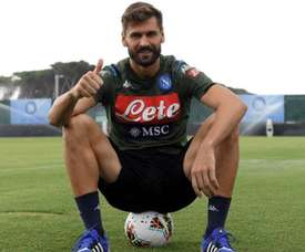 Llorente could be the key to Cavani's signing. Twitter/sscnapoliES