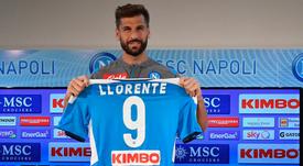 Llorente espera disputar algunos minutos ante el Liverpool. SSCNapoliES