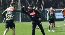 Gattuso aseguró la continuidad de Llorente. EFE