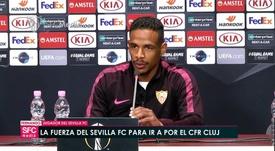 Fernando habló sobre la eliminatoria ante el Cluj. Captura/SFCTV