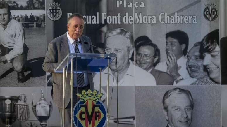 Roig elogió a Santi Cazorla. VillarrealCF