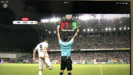 Fernando Torres débute au Japon. Capture