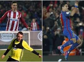 Fernando Torres, Iago Aspas et Luis Suárez. BeSoccer