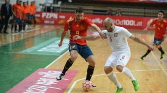 España se prueba en Jaén para el Mundial. Sefutbol