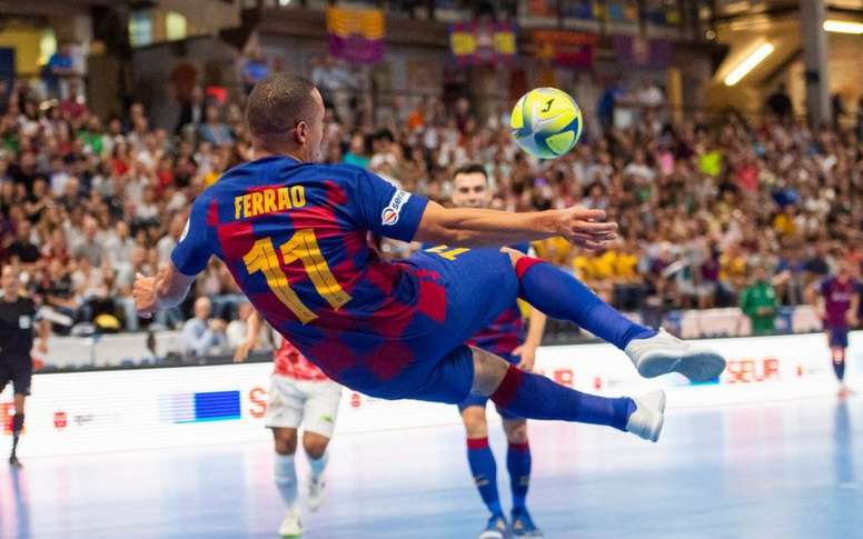 El Barça, líder. FCBFutsal