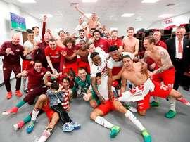 El Spartak de Moscú nunca había ganado el trofeo. SpartakMoscú