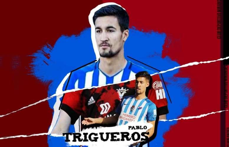 El Mirandés incorpora a Pablo Trigueros para esta temporada. Twitter/CDMirandes