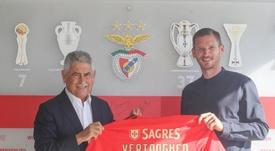El Benfica anunció tres fichajes importantes a la vez. Twitter/SLBenfica