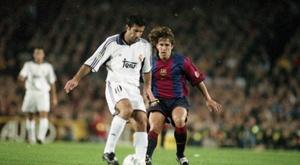 Figo fue duramente criticado. FCBarcelona
