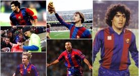 Figo, Ibrahimovic, Maradona, Schuster, Cruyff, Ronaldo. BeSoccer