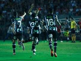 Com gol de Alemão, Figueirense derrota o Fluminense pela Copa do Brasil. Patrick Floriani/FFC