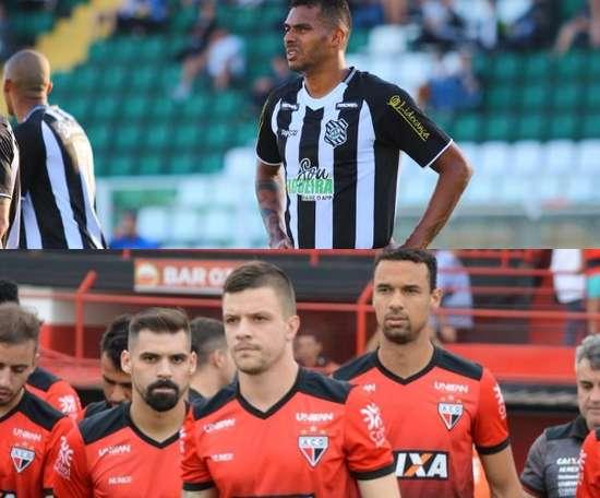 Figueirense e Atlético-GO se enfrentam pela 29ª rodada do Campeonato Brasileiro da Série B. Twitter