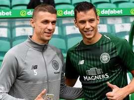 Filip Benkovic está a préstamo en el Celtic. CelticFC