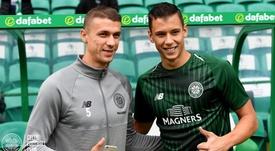 Benkovic (d) fue cedido a inicios de temporada al Celtic. Celtic