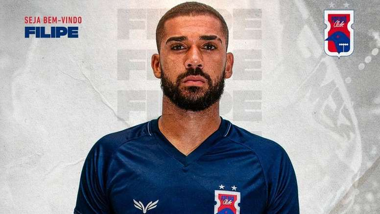 Filipe tratará de acumular experiencia en Paraná. Twitter/ParanaClube