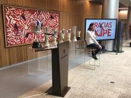 Les adieux de Filipe Luis. Twitter/Atlético