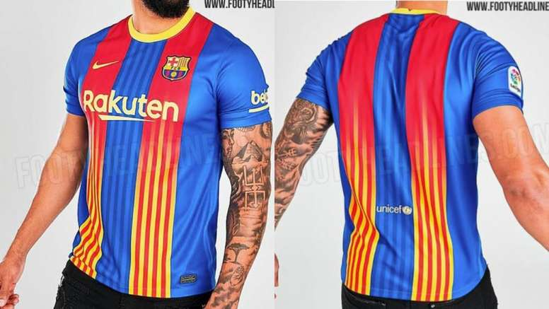 Barca S 2021 22 4th Kit Leaked Besoccer