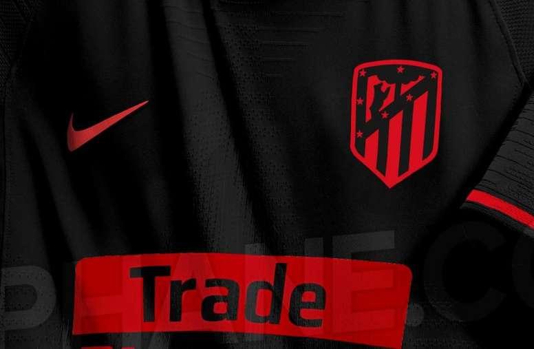 Esta será la segunda camiseta del Atlético para la 2019-20. Esvaphane.com