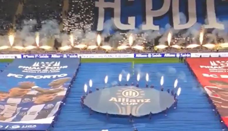Final da Taça da Liga tem festa incrível. Captura/Arthur Quezada/Esporte Interativo