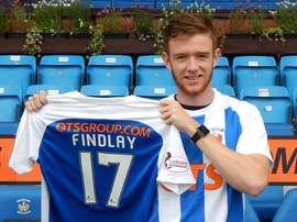 El Kilmarnock se refuerza con la llegada de Findlay. KilmarnockFC