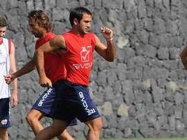 Antigo capitão dos 'leões' joga atualmente no Gimnasia, da Argentina. Twitter Catânia.