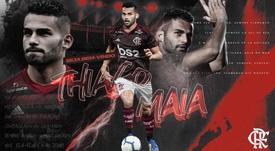 Thiago Maia llega a Flamengo desde Francia. Flamengo