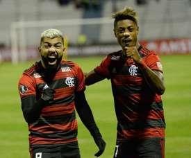 Flamengo garante lugar na meia-final da Taça Rio. Twitter @esporteflamengo