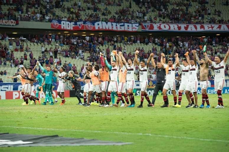 Flamengo venció con bajas importantes. Twitter/Flamengo